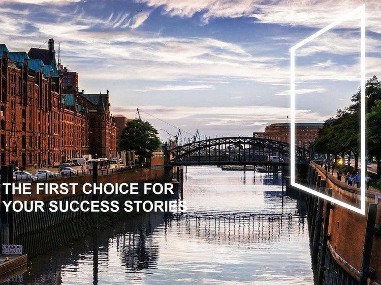 The first choice for your success stories